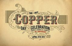 Nice, now this is a day I'd celebrate! Copper Day.