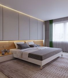 Concepts For An Glorious Couple Bedroom Interior Design Modern Bedroom Design, Master Bedroom Design, Home Room Design, Dream Bedroom, House Design, 2 Bedroom Apartment, Home Decor Bedroom, Family Apartment, Bedroom Hacks