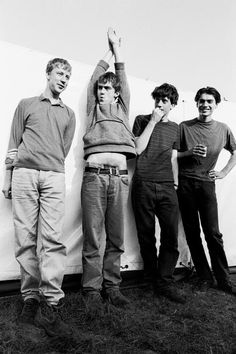Blur : Damon Albarn, Alex James, Dave Rowntree and Graham Coxon