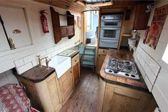 This is from a 'Dutch barge style narrowboat' whatever that means. It has charm.