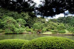 Ogród Rikugien, Tokio, Japonia