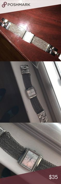 Guess wrist watch Silver authentic guess wrist watch Guess Accessories Watches