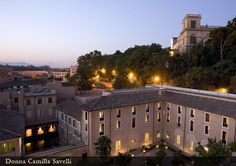Hotel Donna Camilla Savelli Roma - Albergo 4 Stelle Roma Trastevere - used to be the convent where I spent my Rome semester