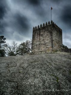 The Lanhoso #Castle is located in Póvoa de Lanhoso, is regarded as one of the most imposing castles in #Portugal . Built on top of the Pilar Hill - the largest granite monolith in the country, the Castle was very important regarding the conquest and formation of the Kingdom of Portugal. It was classified as National #Monument in 1910. #Europe #Travel #photography #Minho #Braga #Lanhoso #Povoa