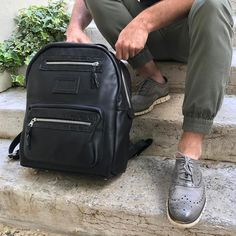 The Backpack #fieldtested and approved! Back from my #italianvacation and ready to get in the #workshop to make some more #bespokebags #lovewhatyoudo