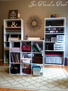 A Budget-Friendly Craft Room