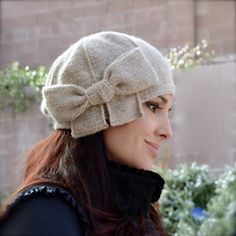 Beau Cloche | knitting pattern by Natalie Larson