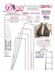 Patrones de ropa intima para dama, niña, niño y caballero