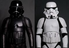 Empire Rides Back. Give the motorcycle geek in your life the perfect gift.  The Stormtrooper Motorcycle Suit will do more than just let you play out your fantasies, it may even save your life. Available in your choice of either classic imperial white or Shadow Trooper black.  And for $1,150 it will adjust to fit your body's unique composition for maximum comfort and protection.