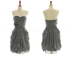 Bridesmaid dress: love this style! Not so keen on the color for a wedding, though.