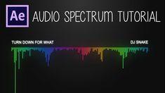 After Effects: Audio Spectrum Tutorial