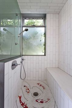 Brooks Avenue House By Bricault Design. Mosaic BathroomBathroom Floor ...