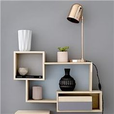 Eye-Opening Cool Tips: Floating Shelf Decor Kitchen long floating shelves sinks.Floating Shelves Above Couch Farmhouse wooden floating shelves kitchen.Floating Shelves Above Couch Farmhouse. Geometric Furniture, Home Furniture, Furniture Design, Furniture Ideas, Bedroom Furniture, Diy Bedroom, Cheap Furniture, Bedroom Shelves, Outdoor Furniture