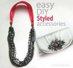 crafterhours: Styled by Tori - Easy DIY Jewelry #DIY #jewelry #toristyle