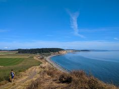 Ebey's Landing is a beautiful marine trail that is  great for kids and families.