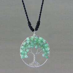 Hey, I found this really awesome Etsy listing at https://www.etsy.com/listing/163054658/jade-tree-of-life-branch-wiring-pendant