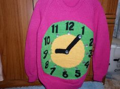 This sweater is for a 26 inch chest and has by Marionsknittedtoys, $37.00