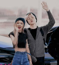 -love is nothing stronger than a boy with luv💙 . Mochi, Byun Yo Han, Kpop Couples, Rose Park, Bts Beautiful, Korean Couple, Blackpink And Bts, Park Chaeyoung, Bts Boys