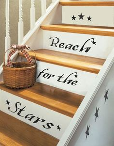 stair decor cute for stairs to a attic room