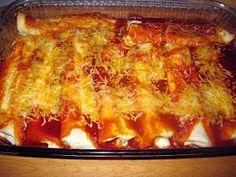 Catz in the Kitchen: Cheese Enchiladas