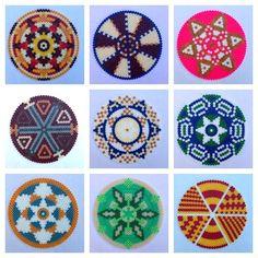 Mandalas hama beads by merrilyme