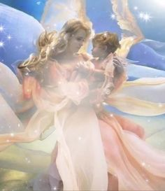 Pin on Přáníčka Beautiful Love Pictures, Beautiful Gif, Beautiful Fairies, Love Images, Guardian Angel Pictures, Angel Images, Guardian Angels, Angel Artwork, Angel Wallpaper