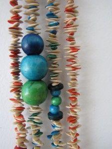 Tutorial collana semi di zucca