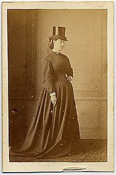 [Empress Eugenie Wearing a Hat] Unknown, French Person in Photograph: Empress Eugénie de Montijo (French (born Spain), Granada 1826–1920 Ma...