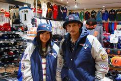 【大阪店】2014.11.18 仲良しカップルでお揃いのジャケットをゲットされました!ペイトリオッツのジャケットがめちゃくちゃキマってます!ご予約の商品も入荷までもうちょっと待っててくださいね♪