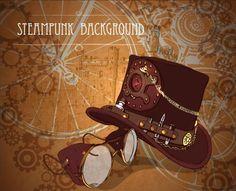 Vintage steampunk background design vector 01 - https://gooloc.com/vintage-steampunk-background-design-vector-01/?utm_source=PN&utm_medium=gooloc77%40gmail.com&utm_campaign=SNAP%2Bfrom%2BGooLoc