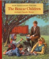 If you liked: The Magic Tree House series LINKcat Catalog › Details for: The Boxcar children / Four orphaned children run away and live in a boxcar, until they are found by their grandfather.