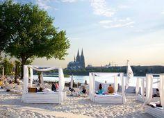 Beach bar in Cologne!