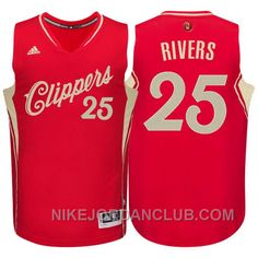 http://www.nikejordanclub.com/nba-201516-season-los-angeles-clippers-25-austin-rivers-christmas-red-jersey-xmas-deals.html NBA 2015-16 SEASON LOS ANGELES CLIPPERS #25 AUSTIN RIVERS CHRISTMAS RED JERSEY XMAS DEALS Only $89.00 , Free Shipping!