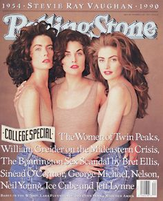 Rolling Stone cover story for Twin Peaks from 1990.
