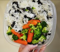 cooking in bulk - a cheap, healthy alternative to frozen meals. make this on a sunday night, and you won't have to rush and worry about what you're bringing to school/work.