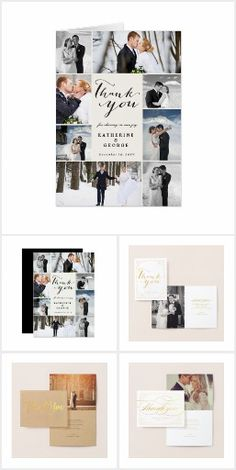 ASSORTED WEDDING THANK YOU PHOTO CARDS COLLECTION A collection of modern, classic, traditional, simple and stylish wedding thank you folded note cards, photo cards, postcards and flat cards by fat*fa*tin | shop more thank you card designs at www.zazzle.com/ fatfatin_blue_knot · www.zazzle.com/ fatfatin_red_knot · www.zazzle.com/ fat_fa_tin
