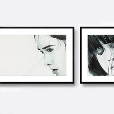 Original watercolour paintings for sale. Insecure by Elinavg on Etsy