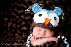I am gonna have someone make me one of these super cute beanies for my new little one!!