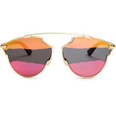 90f0ce8e3c95 Dior So Real tri-colour sunglasses