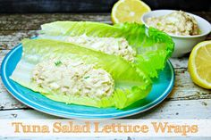 Tuna Salad Lettuce Wraps | The TipToe Fairy #BumbleBeeB2S #clevergirls #tunarecipes #lunchrecipes