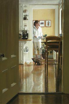 Warren Prosperi, Morning Light  Oil on canvas, 2010