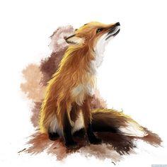 рисунок лисы - Поиск в Google