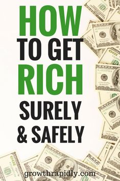 You may think you'll never get rich unless you win the lottery. But becoming rich is certainly possible if you're a hard worker and have discipline. How to get rich, ways to get rich, how to make a lot of money, get rich, how to build wealth.