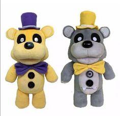 """HOT Five Nights At Freddy's Golden Fazbear Freddy Plush Toys Funko FNAF 12"""" #Unbranded"""