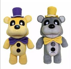 "HOT Five Nights At Freddy's Golden Fazbear Freddy Plush Toys Funko FNAF 12"" #Unbranded"