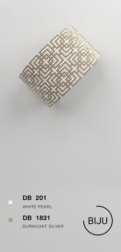 US$4.72 Loom bracelet pattern, loom pattern, miyuki pattern, square stitch pattern, pdf file, pdf pattern, cuff #28BIJU