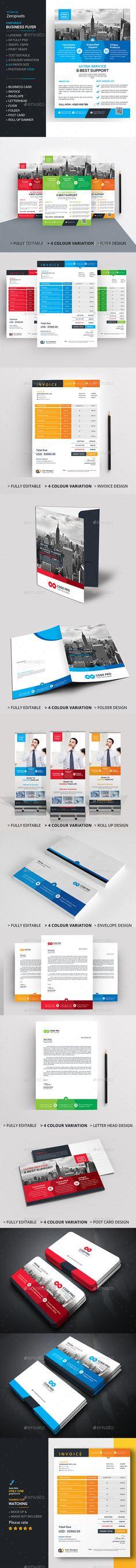 Corporate Branding Stationery Bundle
