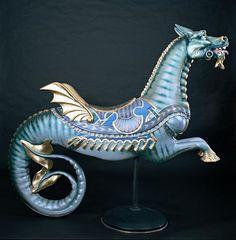 Carousel seahorse...