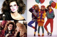 80-talskläder vi minns! Hade du koll på de senaste trenderna redan på 80-talet? Då kommer du garanterat att känna igen dig i de här bilderna på mode, frisyrer och smink från 80-talet! Perfekt inspiration för dig som ska på 80-talsfest!