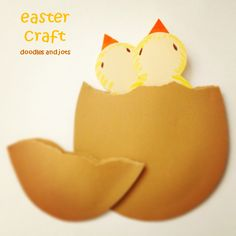 Fun, easy last minute Easter paper craft!